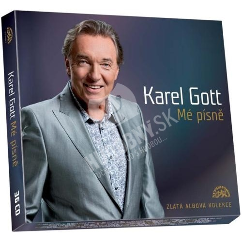 Karel Gott - Mé písně - Zlatá albová kolekce (36 CD Box)
