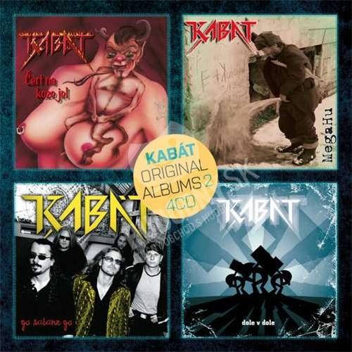 Kabát - Original albums 4CD vol. 2
