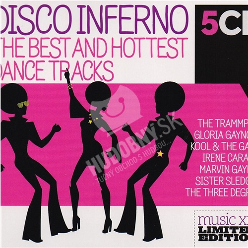 Best and Hottest Soundtracks - Disco Inferno (5CD)