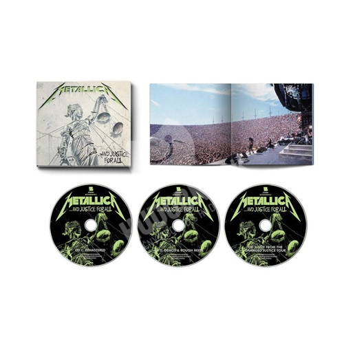 Metallica - ...And Justice For All (3CD Expanded Edition Box-Set)