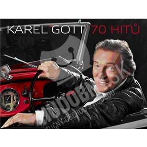Karel Gott - 70 hitů - Když jsem já byl tenkrát kluk (3CD) len 14,99 €
