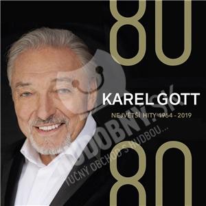 Karel Gott - 80/ 80 Největší hity 1964–2019 (4CD) len 19,27 €
